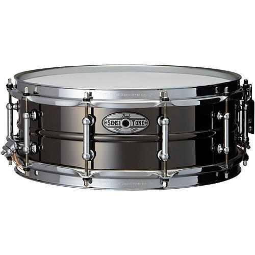 Pearl Sensitone Beaded Brass Snare Drum-thumbnail