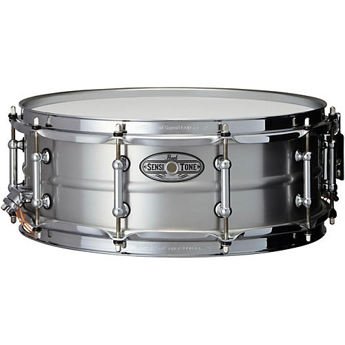 Pearl Sensitone Beaded Seamless Aluminum Snare Drum-thumbnail