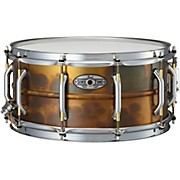 Pearl Sensitone Premium Beaded Patina Brass Snare Drum