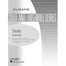 Rubank Publications Serenade (Brass Duet with Piano - Grade 2) Rubank Solo/Ensemble Sheet Series