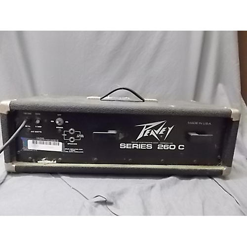 Peavey Series 260c Powered Mixer-thumbnail