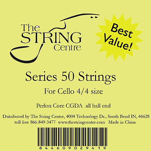 The String Centre Series 50 Cello String Set-thumbnail