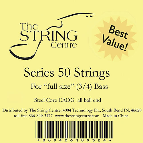 The String Centre Series 50 Double Bass String Set-thumbnail