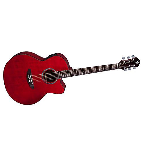 Michael Kelly Series 60 Jumbo Solid Top Cutaway Acoustic-Electric Guitar-thumbnail