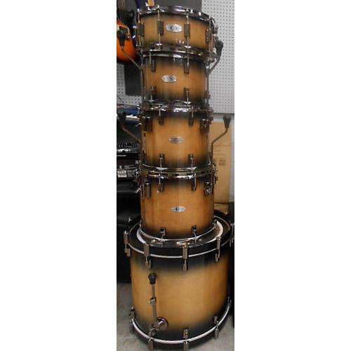 Used Drumcraft Series 8 Drum Kit Mocha Burst Guitar Center