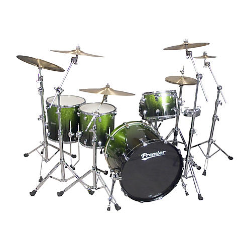 Premier Series Elite Maple Concert Master Ace 24  4-Piece Shell Pack Apple Fade Sparkle Lacquer