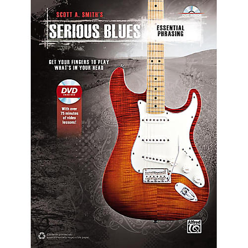 Alfred Serious Blues Essential Phrasing Book & DVD