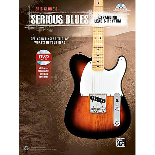 Alfred Serious Blues Expanding Lead & Rhythm Book & DVD