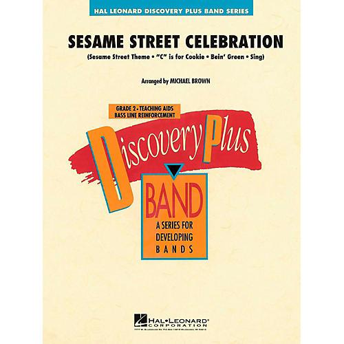 Hal Leonard Sesame Street Celebration Concert Band Level 2