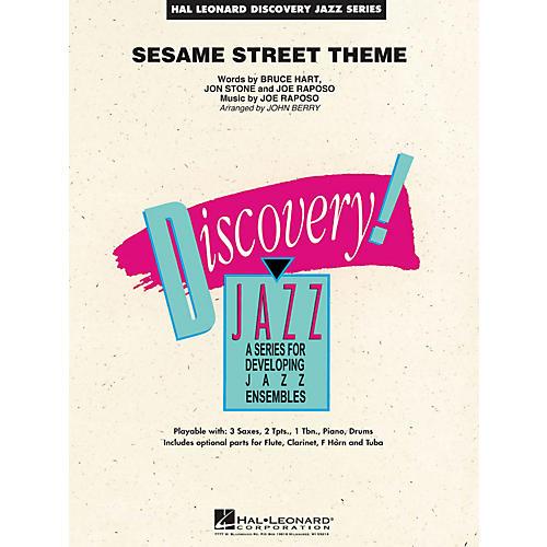 Hal Leonard Sesame Street Theme - Discovery Jazz Series Level 1.5-thumbnail