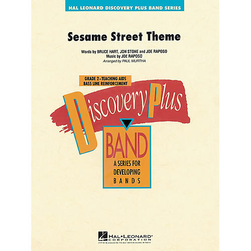 Hal Leonard Sesame Street Theme - Discovery Plus Concert Band Series Level 2 arranged by Paul Murtha