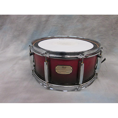 Pearl Session Custom Snare Red Drum-thumbnail