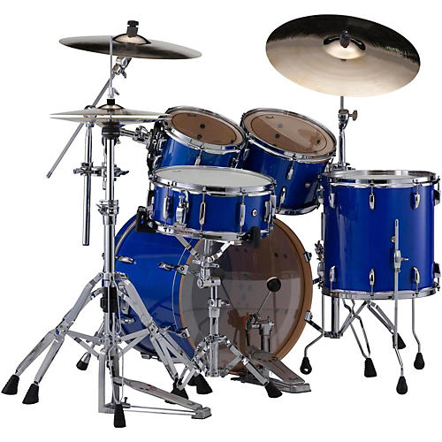 pearl session studio classic 4 piece shell pack with free 16 inch floor tom sheer blue with. Black Bedroom Furniture Sets. Home Design Ideas