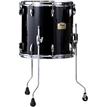 Pearl Session Studio Classic Floor Tom Level 1 Piano Black with Chrome Hardware 14 x 14 in.