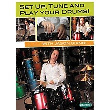 Hudson Music Set Up, Tune and Play Your Drums with Jason Gianni DVD