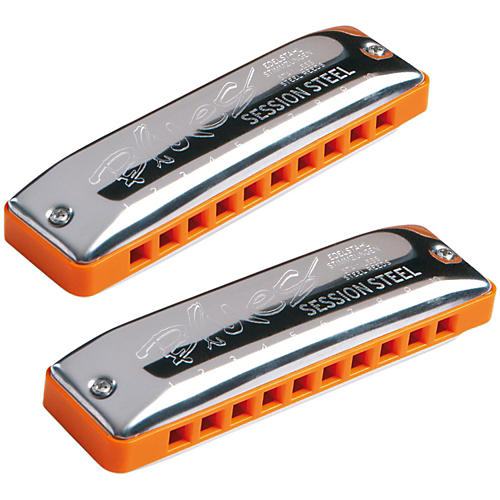 SEYDEL Set of 12 - SESSION STEEL Harmonica and Softcase