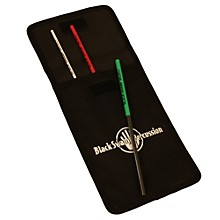 Black Swamp Percussion Set of 3 Select Triangle Beaters with Nylon Case