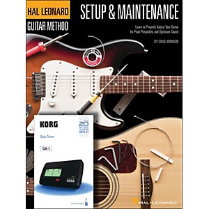 Hal Leonard Setup and Maintenance Hal Leonard Guitar Method Supplement Inclu...