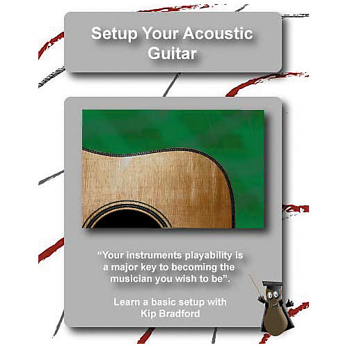 Great Nutshell Productions Setup Your Acoustic Guitar (DVD)-thumbnail