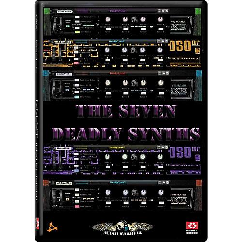 AudioWarrior Seven Deadly Synths Reason Refill