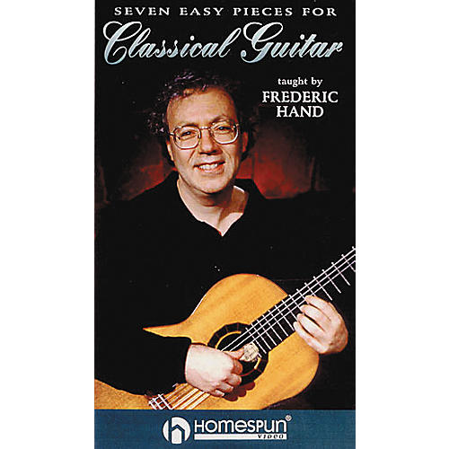 Hal Leonard Seven Easy Pieces for Classical Guitar