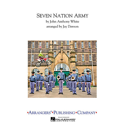 Arrangers Seven Nation Army Marching Band Level 3