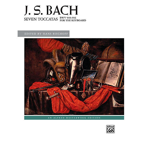 Alfred Seven Toccatas, BWV 910--916 - Book Advanced
