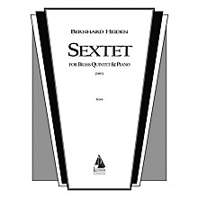 Lauren Keiser Music Publishing Sextet (Brass Ensemble) LKM Music Series by Bernhard Heiden