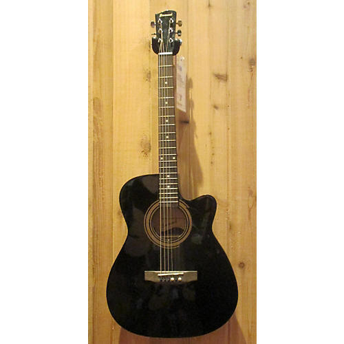 Savannah Sgo-10ce-bk Acoustic Electric Guitar-thumbnail
