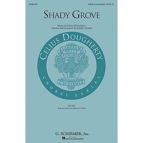 G. Schirmer Shady Grove 2-Part Arranged by Audrey Snyder
