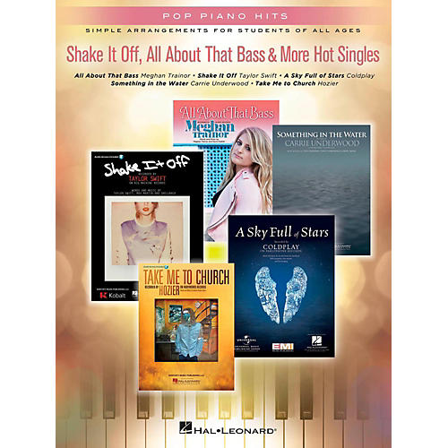 Hal Leonard Shake It Off, All About That Bass & More Hot Singles for Easy Piano-thumbnail