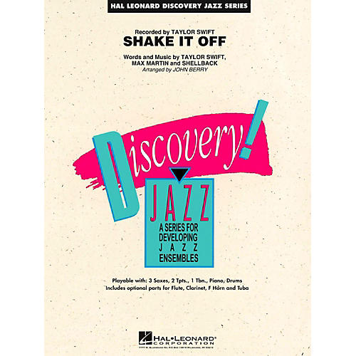 Hal Leonard Shake It Off Jazz Band Level 1.5-thumbnail