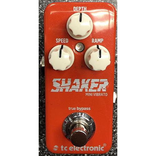 TC Electronic Shaker Mini Vibrato Effect Pedal-thumbnail