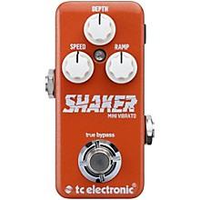 TC Electronic Shaker Mini Vibrato Guitar Effects Pedal Level 1
