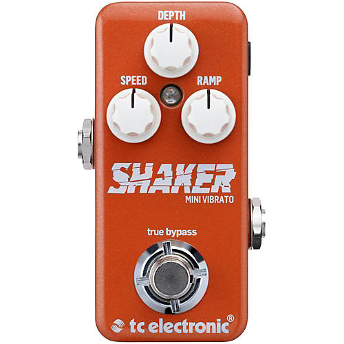 TC Electronic Shaker Mini Vibrato Guitar Effects Pedal-thumbnail