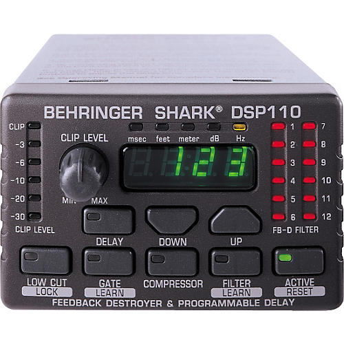 behringer shark dsp110 guitar center. Black Bedroom Furniture Sets. Home Design Ideas