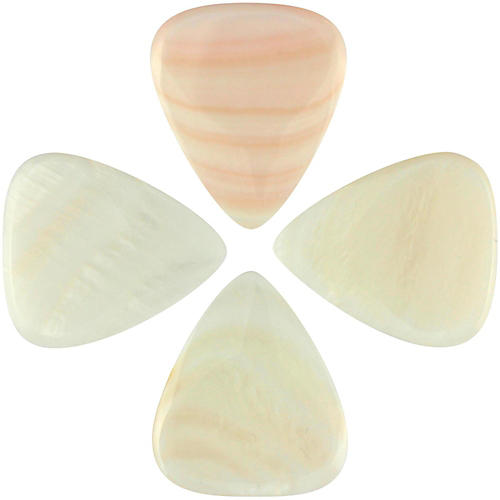 Timber Tones Shell Tones Freshwater MOP Single Plectrum Guitar Pick