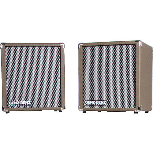Genz Benz Shenandoah SHEN-200-EXT-L/R Matched Pair 1x10 Stereo Guitar Extension Cabinets