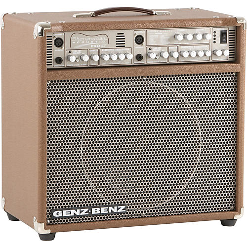 Genz Benz Shenandoah Series Shen ProLT 300W 1x12 Acoustic Guitar Combo Amp Brown