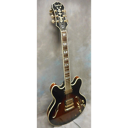 Epiphone Sheraton ASB Hollow Body Electric Guitar-thumbnail