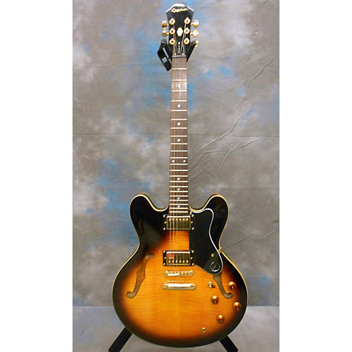 Epiphone Sheraton Dot Deluxe Vs Hollow Body Electric Guitar-thumbnail