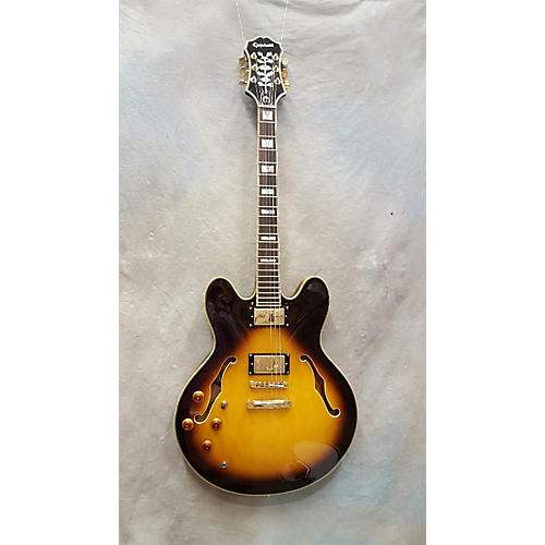 Epiphone Sheraton II Left Handed Hollow Body Electric Guitar