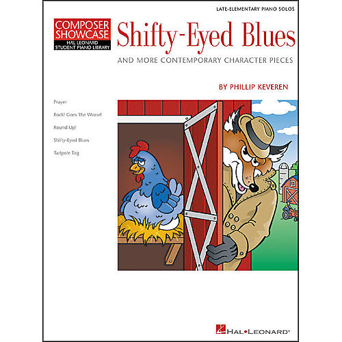 Hal Leonard Shifty-Eyed Blues Late Elementary Piano Solos Composer Showcase Hal Leonard Student Piano Library by Phillip Keveren-thumbnail