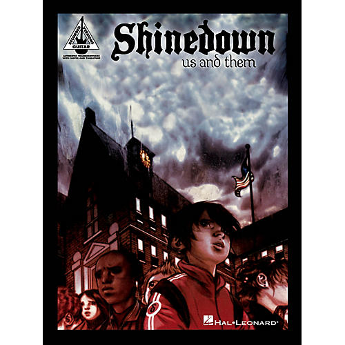 Hal Leonard Shinedown - Us and Them Guitar Recorded Version Series Softcover Performed by Shinedown