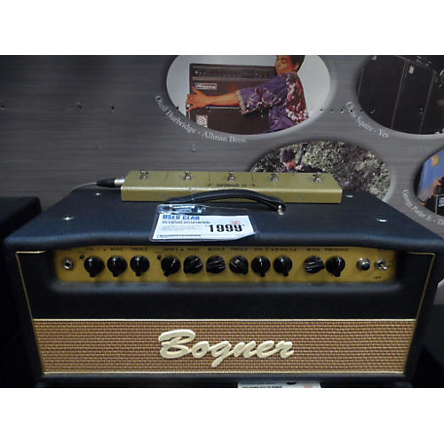 Bogner Shiva No Reverb 6L6 60W Tube Guitar Amp Head