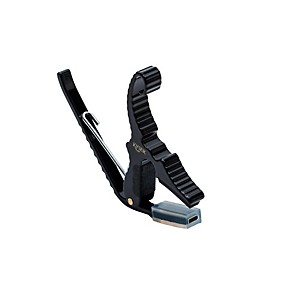 Kyser Short Cut 3 String Acoustic Guitar Capo by Kyser