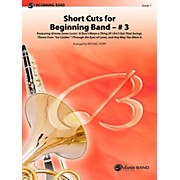 Alfred Short Cuts for Beginning Band #3 Concert Band Level 1 Set