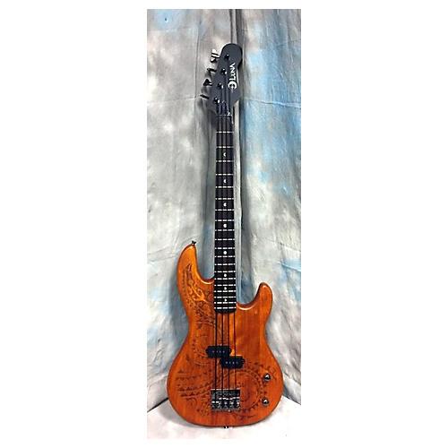 Luna Guitars Short Scale Bass Electric Bass Guitar-thumbnail