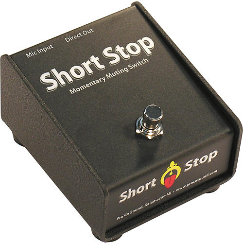 Pro Co Short Stop Momentary Mic Mute Switch