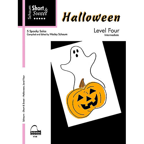 SCHAUM Short & Sweet Halloween, Level Four Intermediate-thumbnail